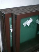 Готовая продукция-створки для алюминиевых лоджий