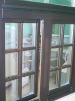 Образец-деревянное окно с фальш-переплётом