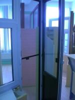 Образец-балконная дверь с москитной дверью