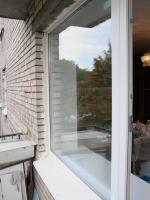 Установленное пластиковое окно и дверь на балкон.    г. Пушкин, бульвар Алексея Толстого.