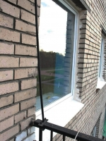 Установленное пластиковое окно. г. Пушкин, бульвар Алексея Толстого.